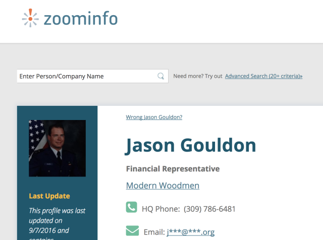 Jason Gouldon - Financial Representative for Modern Woodmen of America