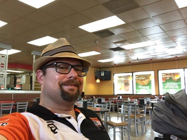 Jason Gouldon at Carls Jr - credit Yelp